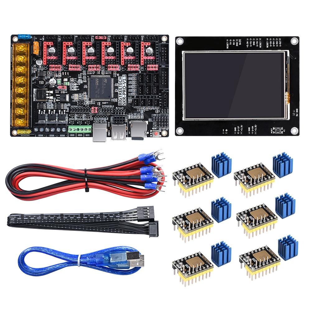 BIGTREETECH SKR PRO V1 1 32 Bit WIFI Control Board 3D Printer Parts Vs MKS Gen