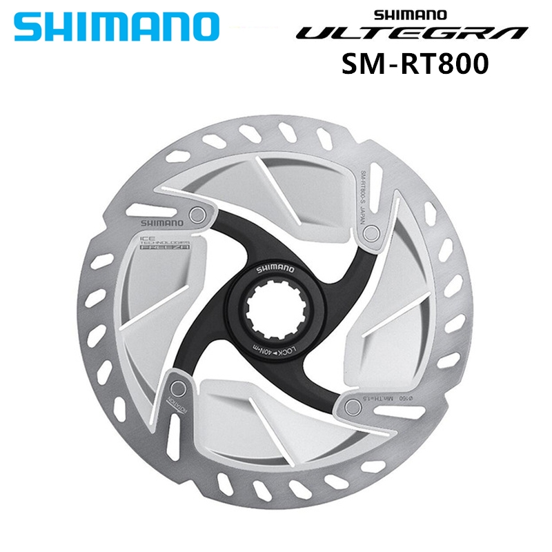 Shimano Ultegra SM RT800 Ice-Tech Freeza Disc Centerlock RT800 ROTOR For Road Bike 140mm / 160mm Ultegra  R8020/R8070