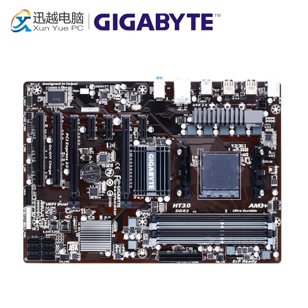 Gigabyte GA-970A-DS3P Desktop Motherboard 970A-DS3P 970 Socket AM3 DDR3 SATA3 USB3.0 ATX все цены