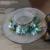 Nueva señoras dulces estereoscópica hilado banquete de boda con encanto Coreano sombrero sombrero protector solar sombrero de playa