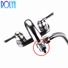 Латунный аэратор для кран и смеситель для кухонной раковины Ванная комната Душ смеситель Носик запасная часть M22 X M24 полированный хром