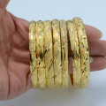 1PC/Wholesale Fashion Dubai Gold Bangle Jewelry , Gold Plated NEW Ethiopian Bangle Bracelet Ethiopia Africa Arab Bangles Gold