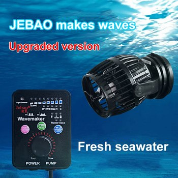 Jebao Mini Wave Pump RW4 RW8 RW15 RW20 Coral Cylinder Pump Ocean Aquarium Wave Manufacturing Pump General 110~240V