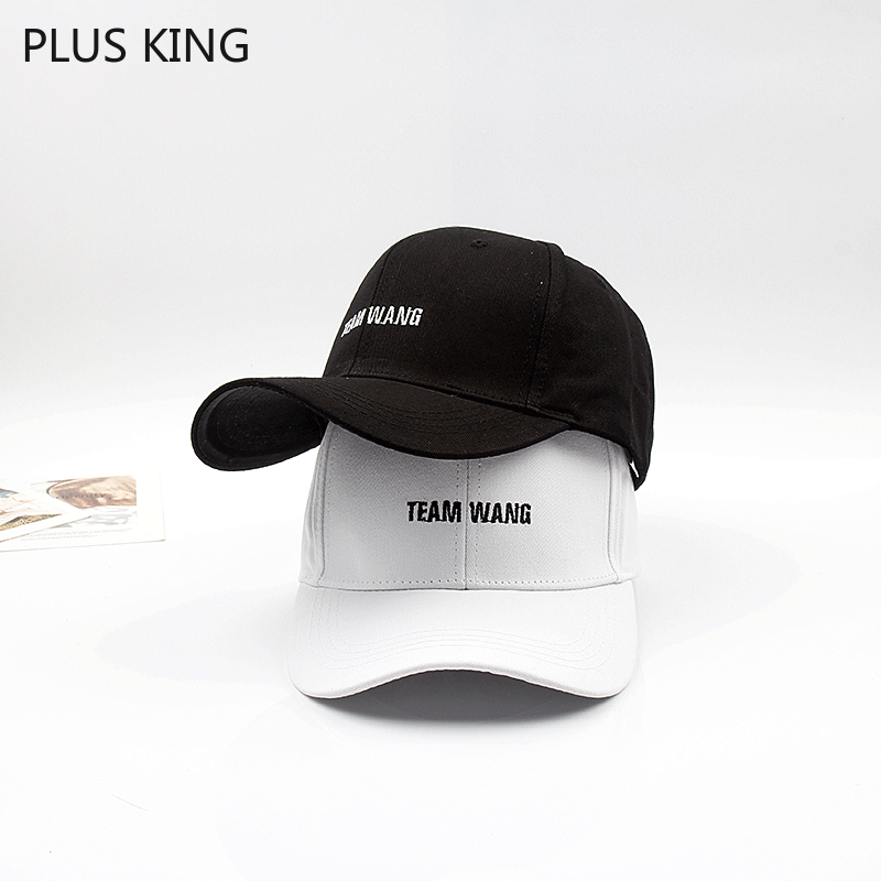 Fashion   Baseball     Cap   Rap Leisure Black White Hat Harajuku Hip Hop Jackson Wang