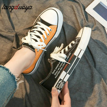 Canvas Shoes Women Spring Summer Breathable Casual