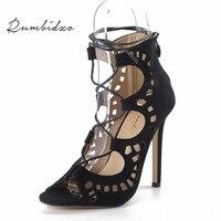 2015 Fashion Brand Designer Women Pumps Women Shoes Sandals Rainbow Colors Rivets High Heels Shoes Summer