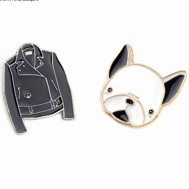 Cartoon Metal Badge 2017 New Fashion Brooch Safety Kawaii Pins For Clothes Badges Icons On Backpack Women Decorative Brooches