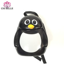 Animal motifs backpack Little penguin bag Animation school Children Kindergarten