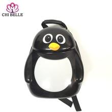 Animal motifs backpack Little penguin bag Animation school Children Kindergarten