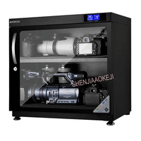 AD 80HC Electronic moistureproof box LED drying oven 80L SLR storage lens moisture proof camera drying Storage Cabinet 220V 240v