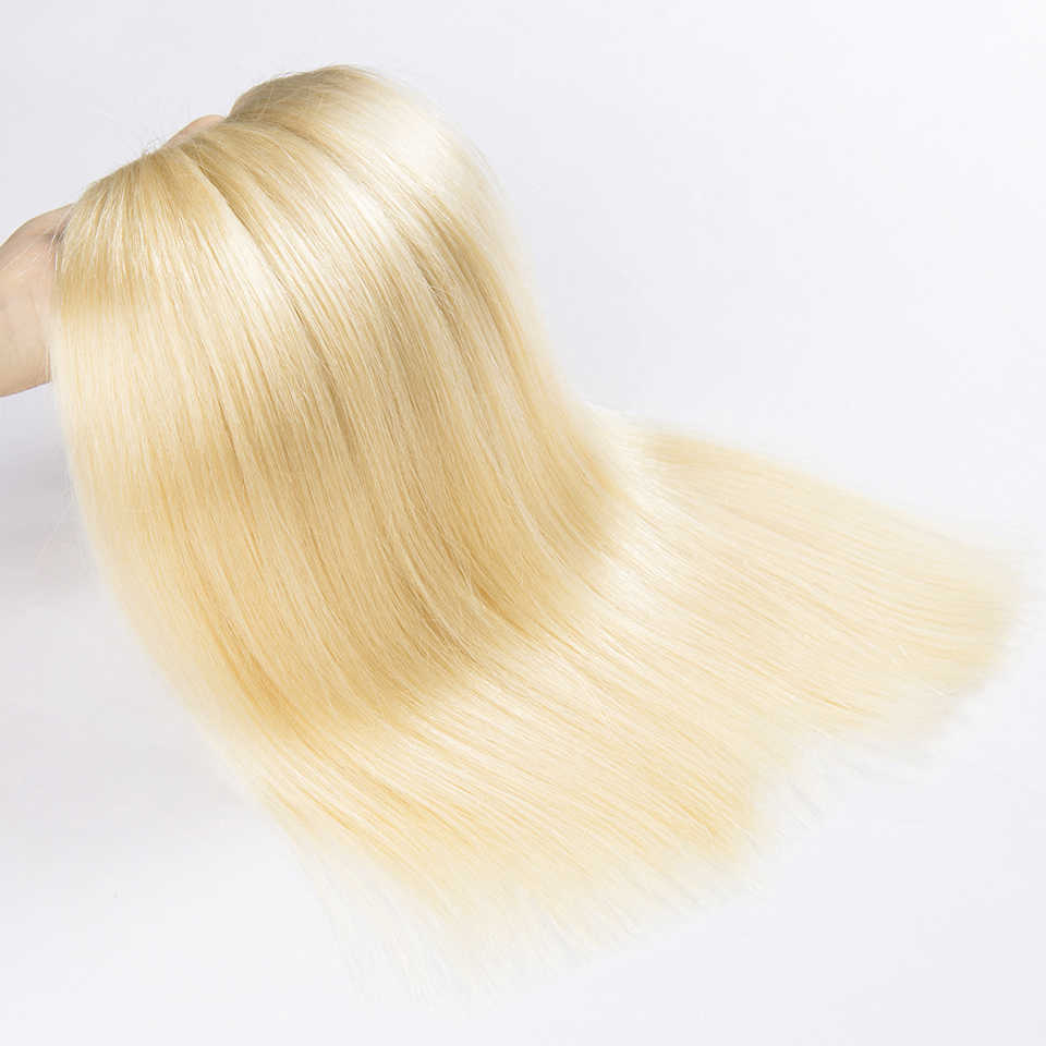 """HJ WEBEN SCHÖNHEIT 8A Blonde Menschliches Haar Bundles Gerade Reines Haar 3 teile/los Brasilianische Haar Extensions 14 """"-24 """"#613 menschliches Haar"""