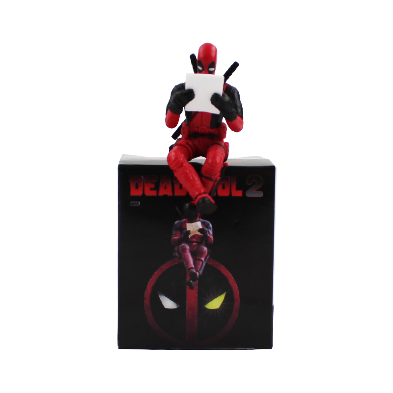 6cm X-MAN Deadpool Super Hero Q version PVC Action Figure mini dead pool model toys doll for kids gifts