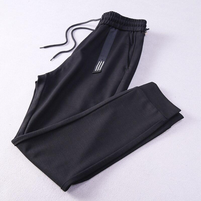 2017 New Jeans Mens Korean Fashion Slim Stripes Haren Pants Students Leisure Sweatpants Tactical Trouser Cotton Streetwear