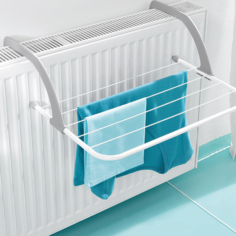 function Foldable Outdoor Folding Rack For Clothes Towel Dryer Rack Hanger Shelf Drying Storage Radiator 2016 Metal Hook Large C image