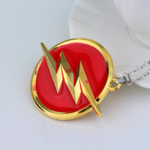 Best The Flash Superhero Necklace Cheap