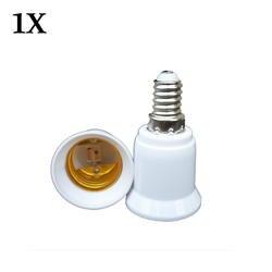 1x конвертер E14 к E27 разъем адаптера преобразования Высокое качество Материал противопожарные гнездо адаптера держатель лампы