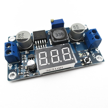 LM2596 LM2596S LED Voltmeter ADJ DC – DC Step-down Step Down Adjustable Power Supply Module With Digital Display for Arduino