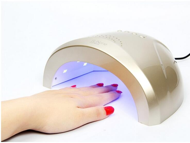 Sunone nail salon White Light 48W UV LED Lamp UV Nail Dryer 365+405nm lighting Curing UV Gel LED Gel Nail Polish Nail Art Tool 48w 365 405nm sunuv led lamp nail dryer salon nail gel light electric eu plug uv curing lamp dryer fit all nail polish c025