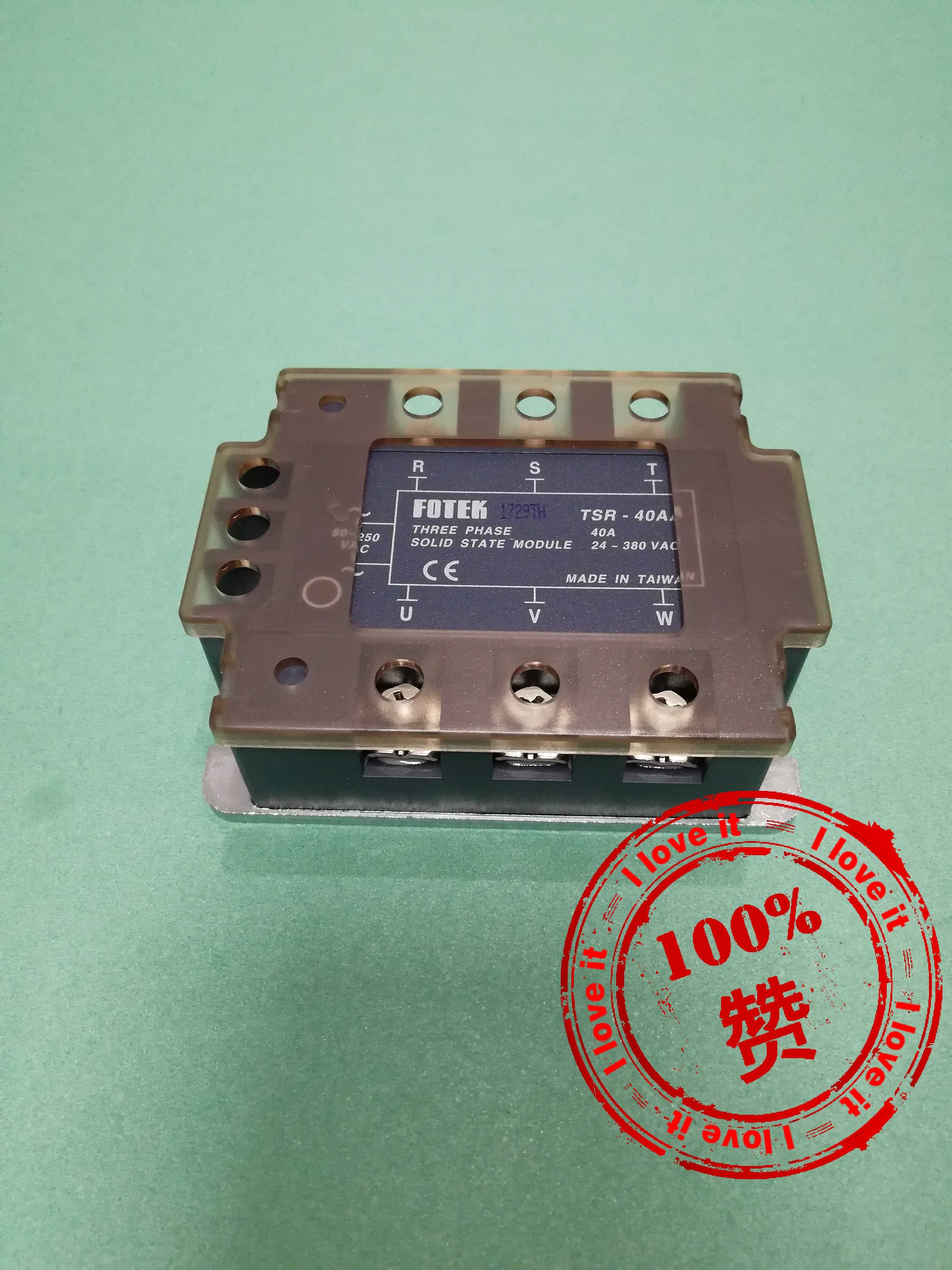 New Original Imported Tsr-40aa Three-phase Solid State Relay TSR-40AA