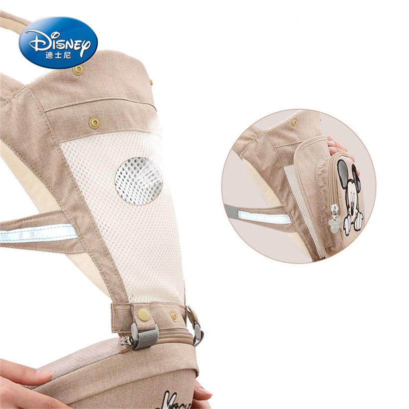 Disney Waist Stool Hold Stool Strap Minnie Strong And Durable Baby Carrier Care Waist Four Seasons Universal Multifunctional happy bear multifunctional baby sling lumbar bended baby lumbar stool horizontal hold four seasons breathable and lightweight