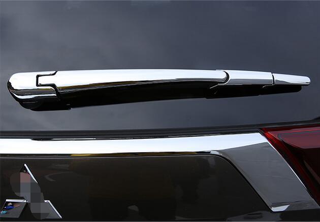Auto rear window super visor sticker for outlander  2016,4pcs,Type A,free shipping