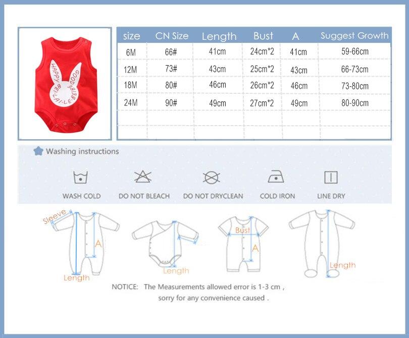 2018 Nieuwe Baby Mouwloze Vest Zomer Driehoek Pasgeboren Bodysuit - Babykleding - Foto 6