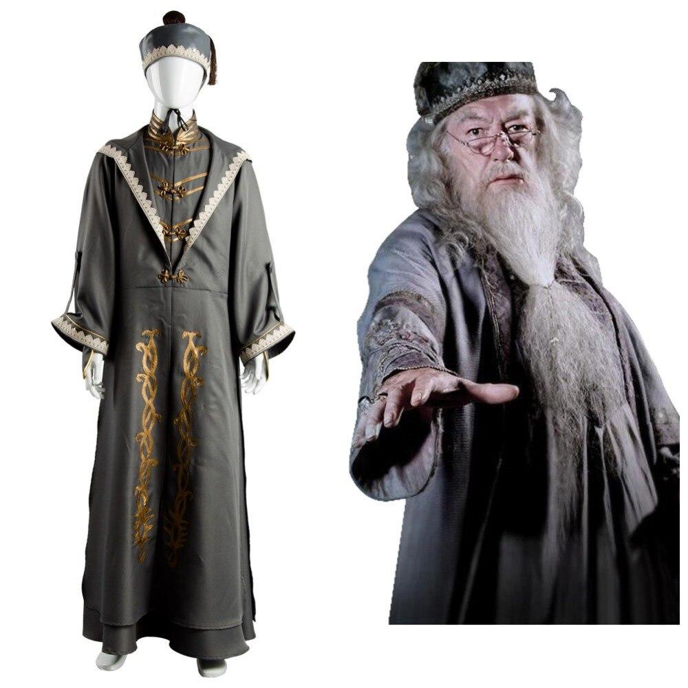 Albus Silente Cosplay costume di carnevale di halloween costume Set Completo