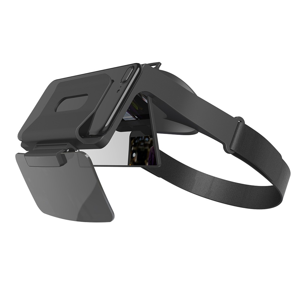 3D AR Augmented Reality Glasses for IOS, Android 4.7-6 inches Smartphone AR Viewer AR Optical Glasses Headset For Smart Phone