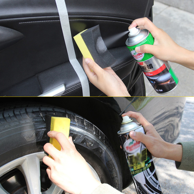 Multifunctional Car Auto Wheels Brush Sponge Cleaner Tools For Tire Hub Waxing Polishing Brush Cleaning Tools