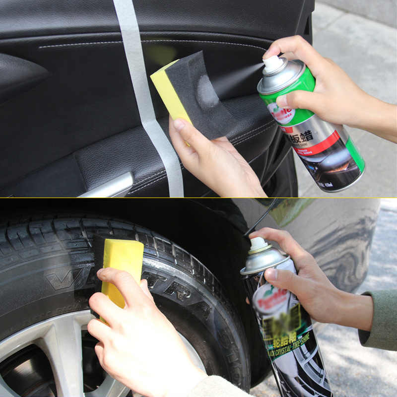 Multifunctionele Auto Auto Wielen Brush Spons Cleaner Gereedschap Voor Tire Hub Waxen Polijsten Borstel Cleaning Tools