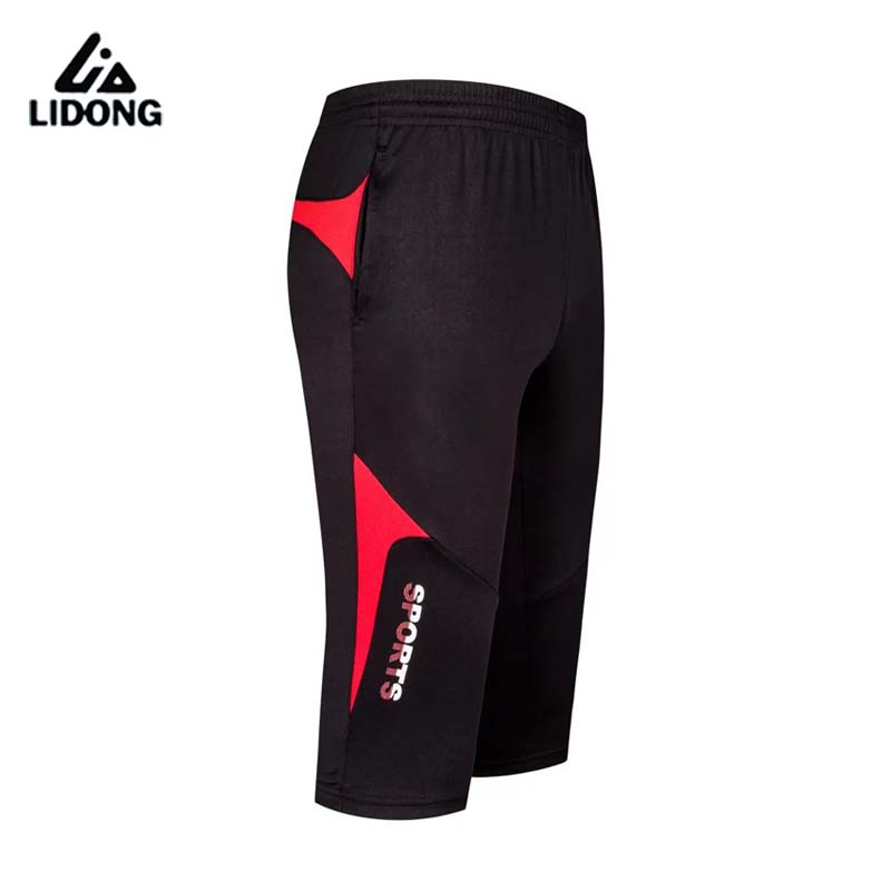 2016 New Professional Football Soccer Training 3/4 Pants Acts