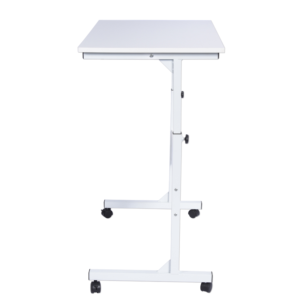 Height Adjustable Laptop with Wheels Multi-function Mobile Portable Laptop Computer Standing Desk for Home Office