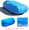 For SEAT leon SEAT ibiza Car covers with cotton firm thicken Waterproof Anti UV Snow Dust two layers cover of car