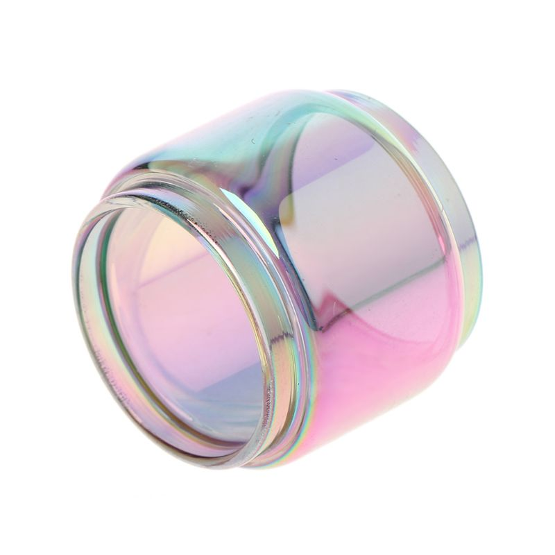 Rainbow Transparent Vape Glass Tube Glass Tank Electronic Cigarette Accessories For TFV12 Prince Vaporizer Atomizer