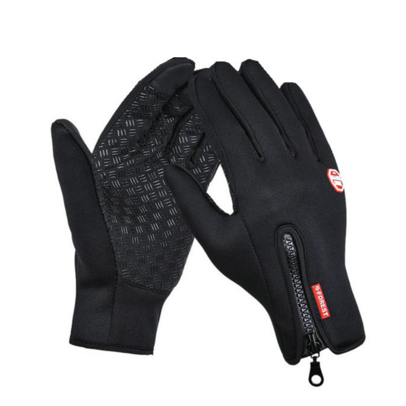 Windproof Winter Hiking Gloves Outdoor Sport Touch Screen Glove Anti Slip Thermal Waterproof Hiking Climbing Gloves