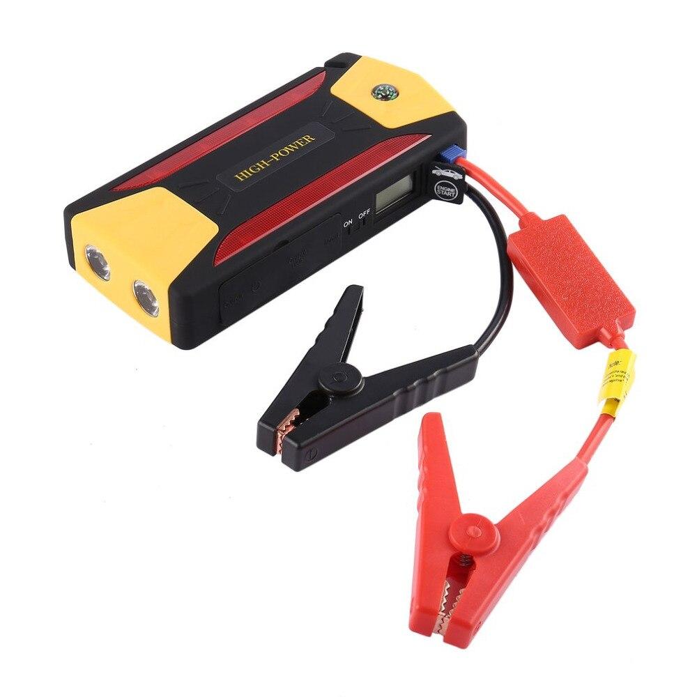 Nuevo 82800 mAh coche portátil Salto de arranque batería de refuerzo con USB Baterías portátiles linterna LED para motocicleta barco Venta caliente