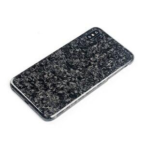 Image 4 - Nouveau étui de téléphone portable en Fiber de carbone Composite forgé pour iPhone XS MAX couverture complète Protection pour étui iPhone X XS XR