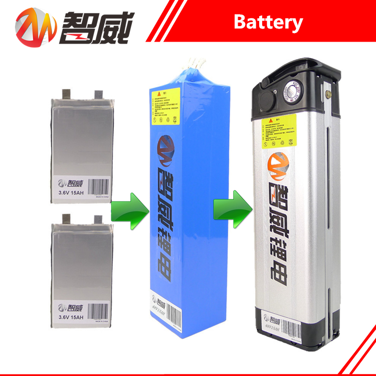 High quality 48V 15AH Lithium ion li ion Rechargeable battery for electric bikes 60KM all devices
