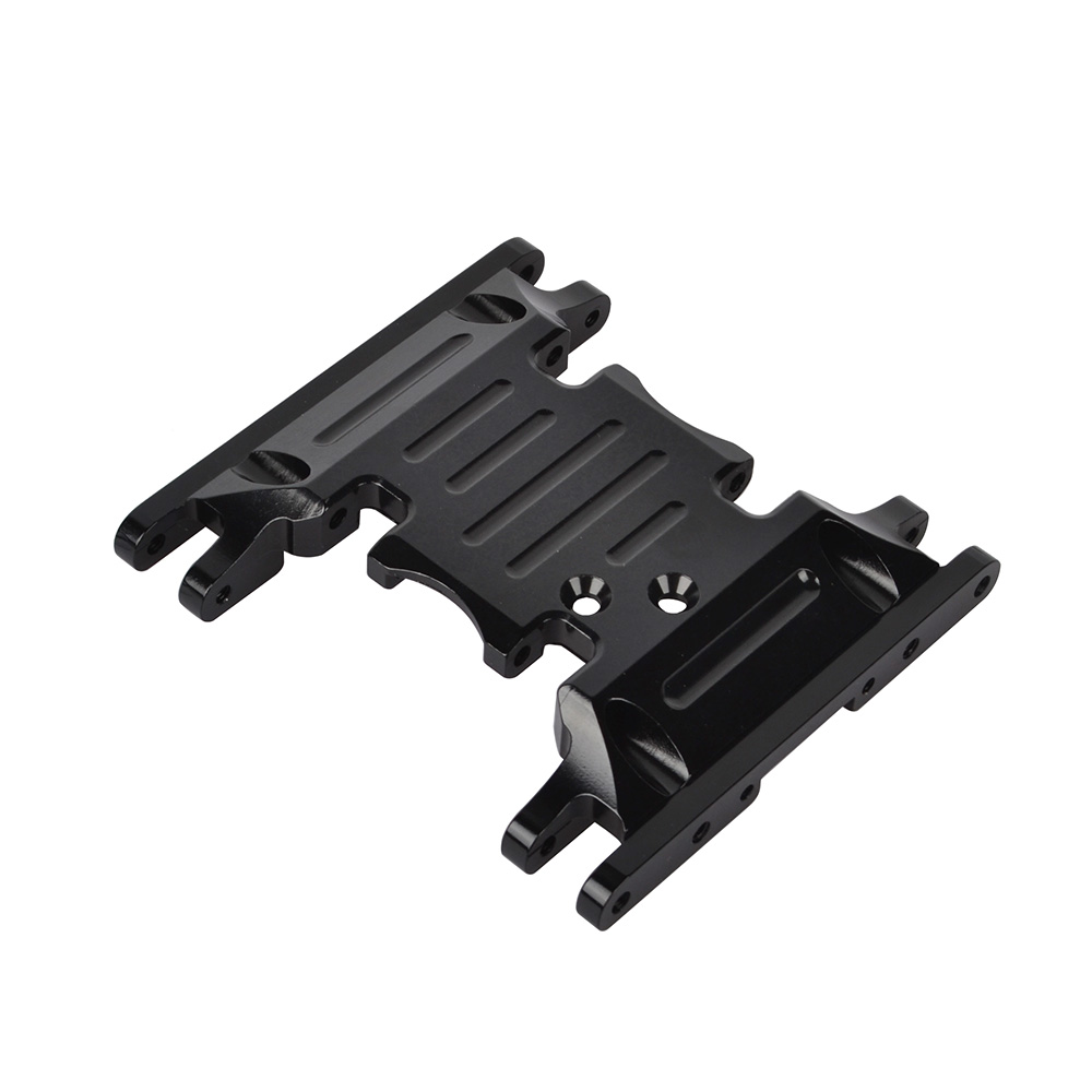 Image 5 - RCAIDONG Aluminum Alloy Skid Plates gear box bottom mount for Axial SCX10 II 90037 90046 90047 90058 1/10 Rc Crawlers AX31379-in Parts & Accessories from Toys & Hobbies