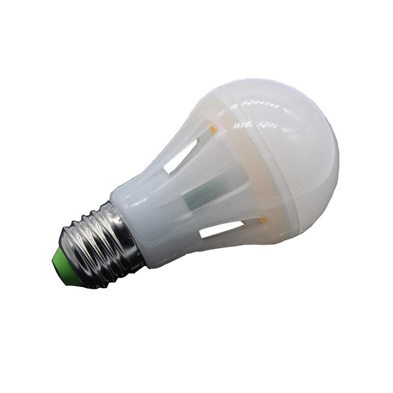 High Power E27 LED Bulb COB Chip 220V 360Dgree Warm White 3000K Cool White 6000K Shipping Via Registered Mail 1w led bulbs high power 1w led lamp pure white warm white 110 120lm 30mil taiwan genesis chip free shipping