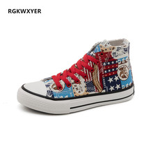 RGKWXYER New Men's Women Canvas Shoes Fashion High Shoes Low To Help Vulcanized Shoes 35-44 Casual Wild Student Sports Shoes стоимость