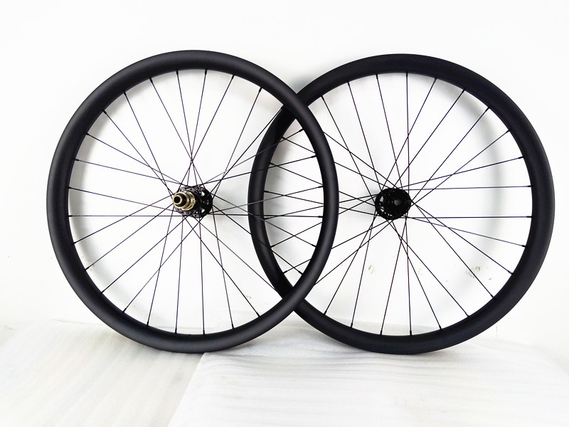 Bici mtb ruote 27.5er 40 millimetri 650B boost U 148x12mm 110x15mm MTB del carbonio wheelset 791 462 hub Mountain disco della bicicletta MTB ruote