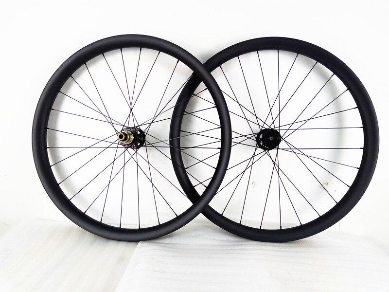 Vtt vélos roues 27.5er 40mm 650B boost U 148x12mm 110x15mm carbone VTT roues 791 462 moyeux disque De Montagne vélo VTT roues