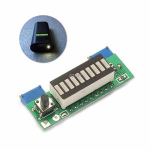 Image 3 - LM3914 3.7V Lithium Battery Capacity Indicator Module Tester LED Display Board Integrated Circuits Whosale&Dropship