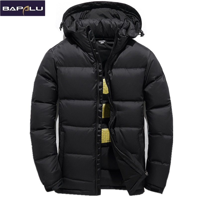 Sa New Mens Casual Jacket Lightweight Autumn Winter White Duck Down Windbreaker Overcoat Parka Warm Coat For Man Casual Clothes Men's Clothing
