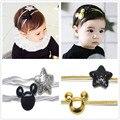 2 pc/set menina headband do hairbands elásticos para recém-nascidos do bebê acessórios para o cabelo crianças enfeites de cabelo cabeça banda headwear menina headress