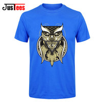 Illuminati Pyramid Owl Eye Of The Beholder T Shirt Men Short Sleeve Fashion Summer Casual O