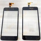 New Touch Screen Digitizer For Explay Craft Touchscreen Sensor Panel Front Glass Lens Black Color+3M Sticker
