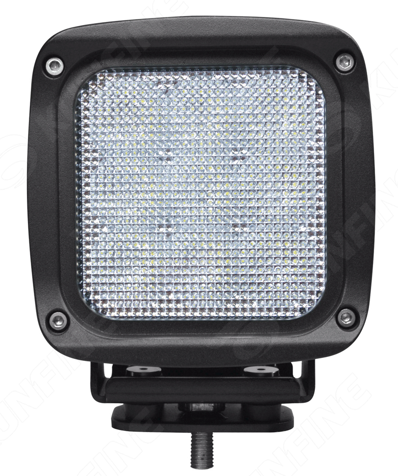 5 45W LED Working Light Spot Flood Lamp Motorcycle Tractor Truck Trailer SUV Offroads Boat 10