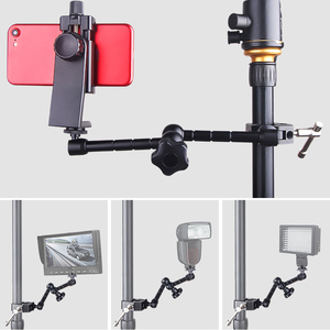Image 5 - 11 Inch Adjustable Friction Articulating Magic Arm + Super Clamp for SLR LCD Monitor LED Flash Light Camera Accessories